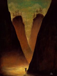 Valley of the Rambling Wraith Print by andykehoe on Etsy. $35.00, via Etsy.