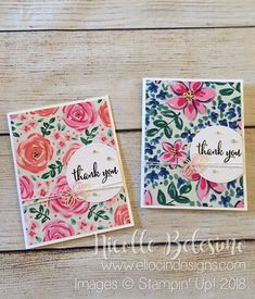 Ellocin Designs | Nicolle Belesimo, Independent Stampin' Up! Demonstrator