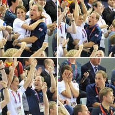 Kate Middleton and Prince William Hugging Pictures at 2012 London Olympics CUTE and LOVELY <3