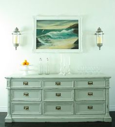 Stunning Classic White Sideboard Buffet Ideas For Dining Room Decoration Ideas