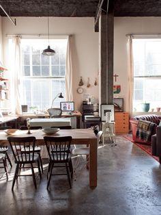 Un ecléctico Apartamento en Seattle, ajuste para un peculiar Illustrator | Design * Sponge