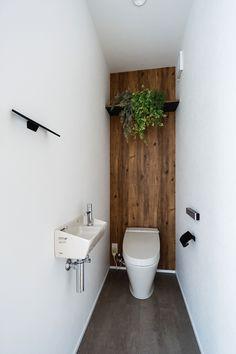 Toilet Room Decor, Small Toilet Room, Bathroom Design Luxury, Bathroom Design Small, Wc Design, House Design, Small Toilet Design, Bathroom Under Stairs, Simple Living Room Decor