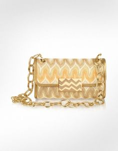 Missoni Metallic Weave Shoulder Bag 85