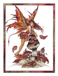 Fairy Art by Amy Brown - Autumn Wings