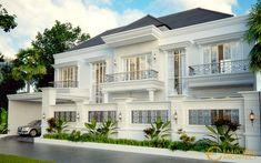 House Outside Design, House Gate Design, Bungalow House Design, House Design Photos, House Front Design, Classic House Exterior, Modern House Facades, Beautiful House Plans, Home Building Design