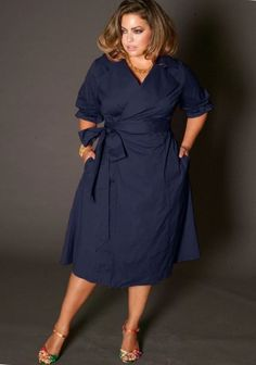 cool Flattering dress for plus size 2016: Short & Long