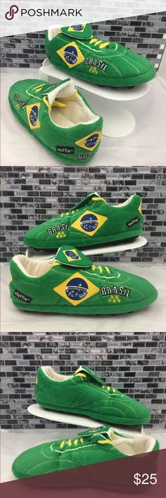 Sloffie Brazil slippers Pre owned in excellent condition Sloggie slippers. The insides, soles stitching and shoes strings are in excellent condition! Smoke and pet free house. sloffie Other