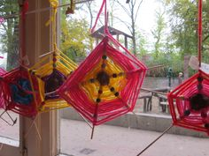 spinnenweb met kralen