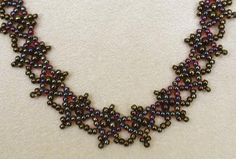 free pattern schema for bracelet necklace | Beads Magic