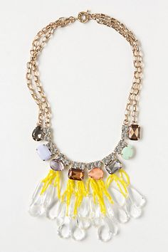 i'm not a jewelery maker by any means but this is cute! Anthropologie knockoff! love flamingo toes knockoff tutorials, they are fantastic!