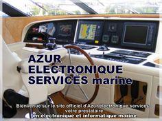 Vente d'électronique de bord pour bateau: Raymarine Navicom KVH Glomex Navionics C-MAP MC Technologies...