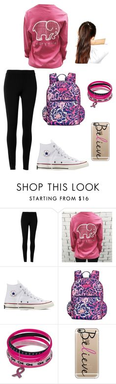 """Breast Cancer Awareness Month"" by rnelson-17 ❤ liked on Polyvore featuring moda, Max Studio, Converse, Vera Bradley, Casetify e ASOS"