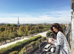 Room with a view quarto com vista Le Meurice Paris Jardin des Tuileries