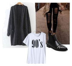 Grunge 90's by bela-carapinheiro-valimaa on Polyvore featuring moda