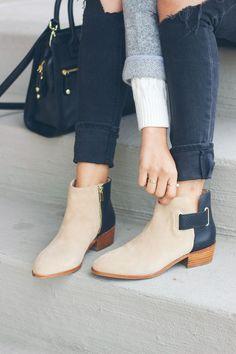 yosi samra boots, neutral bootie