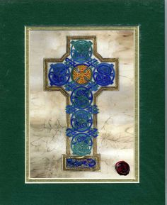 Celtic Card Company Matted Print Celtic Cross is a perfect Fathers Day Gift. #fathersday #fathersdaygift #fathersdayideas #fathers day quotes #fathersdayfromwife #fathersdayfromdaughter #fathersdayfromkids