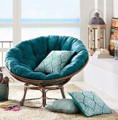 HOME  GARDEN: Papasan chair