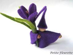 Krokus Blumenzwerg lila - von Petite-Fleurette