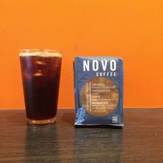 Nitro cold brew at new @novocoffee location in Denver. Incredible mouthfeel.