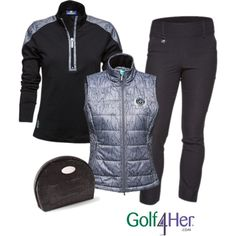 Ladies Fall Golf Outfit... Will need now that u am back to golfing in the cold : )
