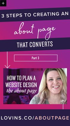 3 Steps to Creating an About Page that Converts! // Love Inspired