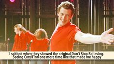 Glee Confessions Me too