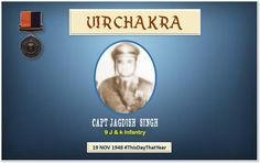 Capt Jagdish by manoeuvring tactically caused heavy enemy casualty.Displayed courage & gallantry in the face of enawarded #http://VirChakrapic.twitter.com/Ztv8hqWkVU #IndianArmy #Army