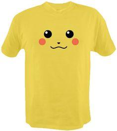 Pikachu Pokemon Shirt by ashleytees on Etsy, $13.99