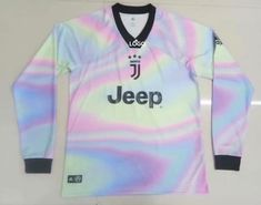 eefced2e2 Juventus EA Sports Long Sleeve Soccer Jersey Men Football Shirt