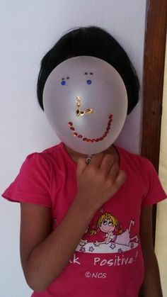 Baloon decorated with sequins