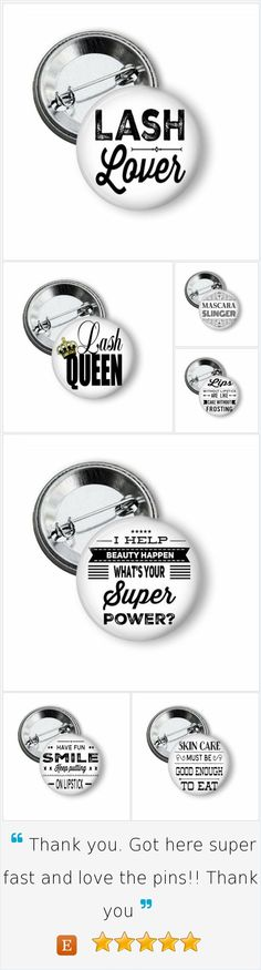Younique Marketing - Advertising pinback buttons. Great way to advertise your business, it grabs attention on your shirt, bag or anywhere. Great gift idea for the Direct Sales person in your life. Also available as key chains, mirrors or bottle openers. #younique #3dmascara #magicmascara #lashes #eyelashes #directsales #pinback #pinbacks #pinbackbuttons