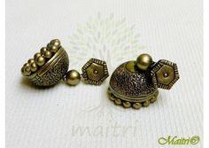 Terracotta Earring - Designer Jhumka TEC419
