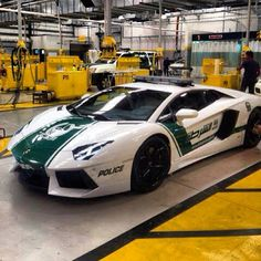 This is how the Dubai Police Roll - Lamborghini Aventador