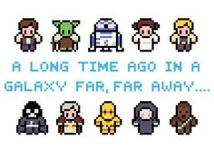 Star Wars Characters Pattern PDF by XStitchMyHeart