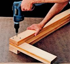 How to build a heavy-duty sawhorse.