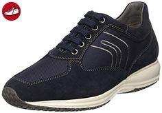 Geox U HAPPY ART. G, U4162G02211,  Herren Sneakers,  Blau (navyc4002),  45 EU (10.5 Herren UK) - Geox schuhe (*Partner-Link)