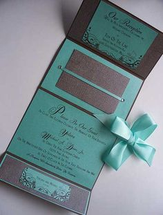 Modern and Elegant Wedding Invitations