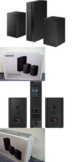 Home Speakers and Subwoofers: Samsung Swa-8500S Wireless Rear Speakers For Hw-M450, 4500, M550 Sound Bars -> BUY IT NOW ONLY: $99.95 on eBay!