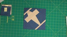 Learn how to make a paper pieced Airplane Block with Marianne Fons