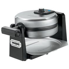 Waring Pro WMK200 Belgian Waffle Maker, Stainless Steel/Black [DISCONTINUED] >>> This is an Amazon Affiliate link. Want to know more, click on the image.
