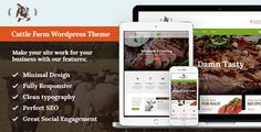 Cattle Farm & Produce Market WP Theme by AncoraThemes CURRENT VERSION 1.4 (see Change log at the bottom of this page) KraussersFarm is a responsive WordPress theme with clean minimal