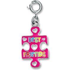 Best Friends Puzzle Charm- $5.00