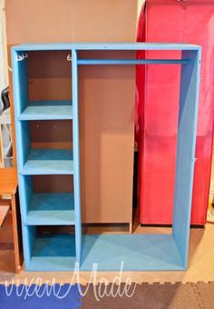 Merveilleux Child Dress Up Closet | Added Hooks On Either Side, In The Cubbies And A