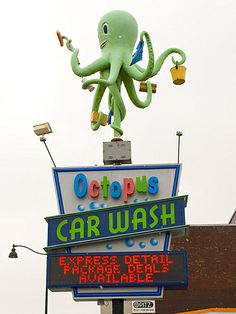 Octopus Car Wash 6987 by Great Laker, via Flickr