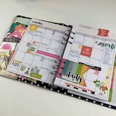 Simple Stories Carpe Diem Planner!