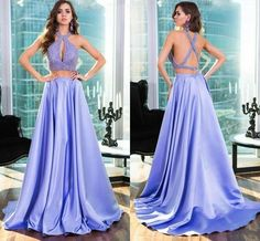 Bg1204 Long Prom Dress,Sexy Prom Dresses,Two Piece Prom