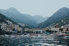 Near the Southern coast of Italy - the Amalfi Coast is one gorgeous destination for honeymoon or destination wedding!