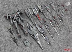 GUNDAM GUY: 1/144 Full Armor 00 Gundam - Customized Build