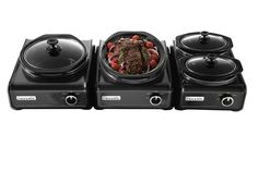 For the frequent party-thrower, the Crock-Pot Hook Up Connectable Entertaining System ($39.99-$49.99 each, crock-pot.com) is adaptable for any size gathering — large or small. From a double cooker to a smaller 2-quart one, you can customize your serving station by linking up to six units of your choice together.  - GoodHousekeeping.com