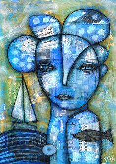 Ocean Girl  by Dan Casado
